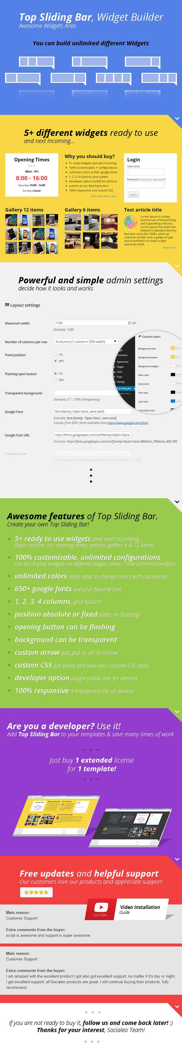 Top Sliding Bar 2